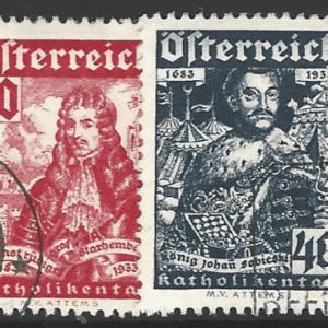 Austria SG 706-711, fine used stamps