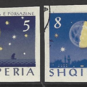 Albania SG 828-831 *Buz imperf