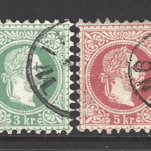 Austria SG AH50-2+53, fine used stamps
