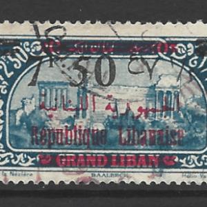 Lebanon SG 133