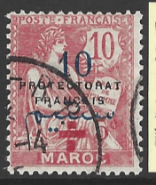 Morocco-French, SG 60