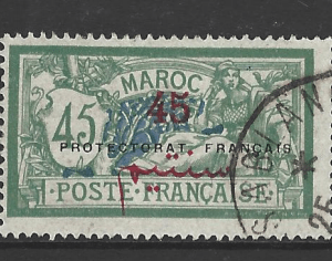 Morocco-French, SG 52