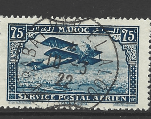 Morocco-French, SG 115