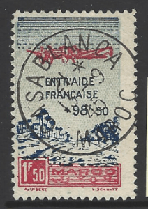 Morocco-French SG 289