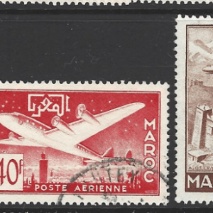 Morocco-French, SG 414-417