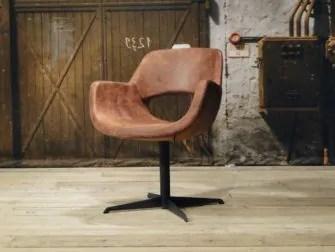 Leren relax fauteuil Vigor in 5 kleuren leer