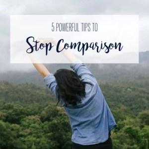 stop the comparison game