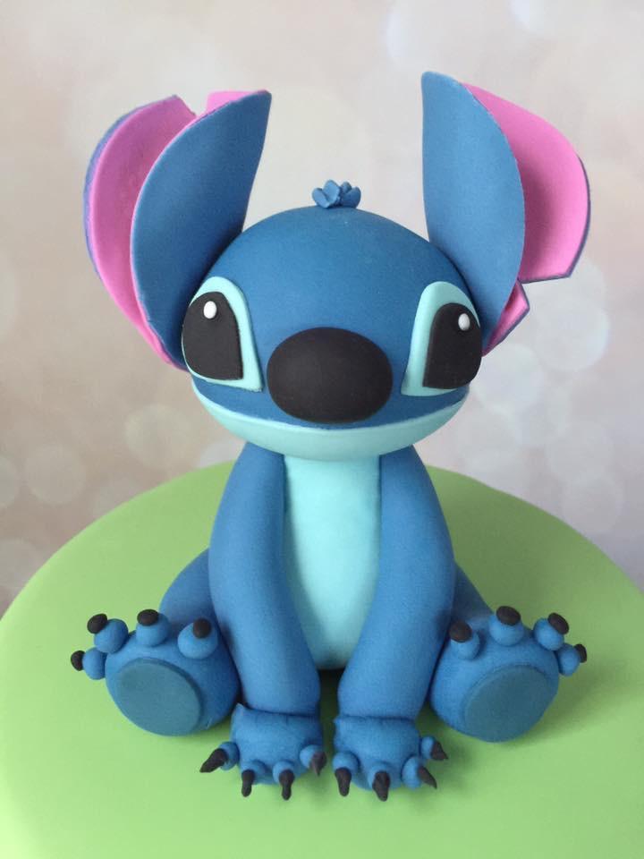 Stitch Cake Topper Robyn Loves Cake