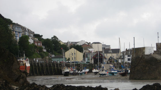 robzlog - The view from Larkstone Beach into Ilfracombe Harbour © Robert Zarywacz 2008