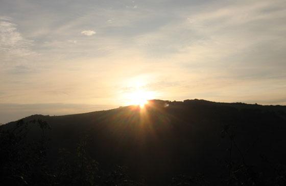 Sunrise at Ilfracombe on Friday 19th September 2008