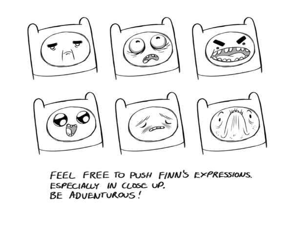 Cómo dibujar perfectamente los personajes de hora de aventura