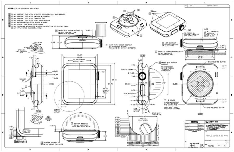 Manual de diseño pare el Apple Watch