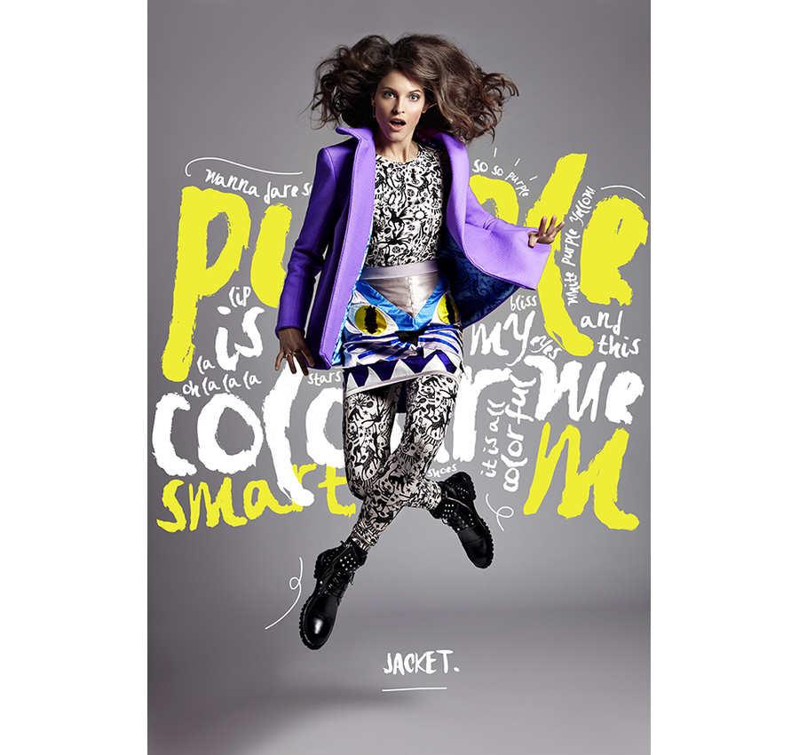 Diseo editorial de modas para una revista