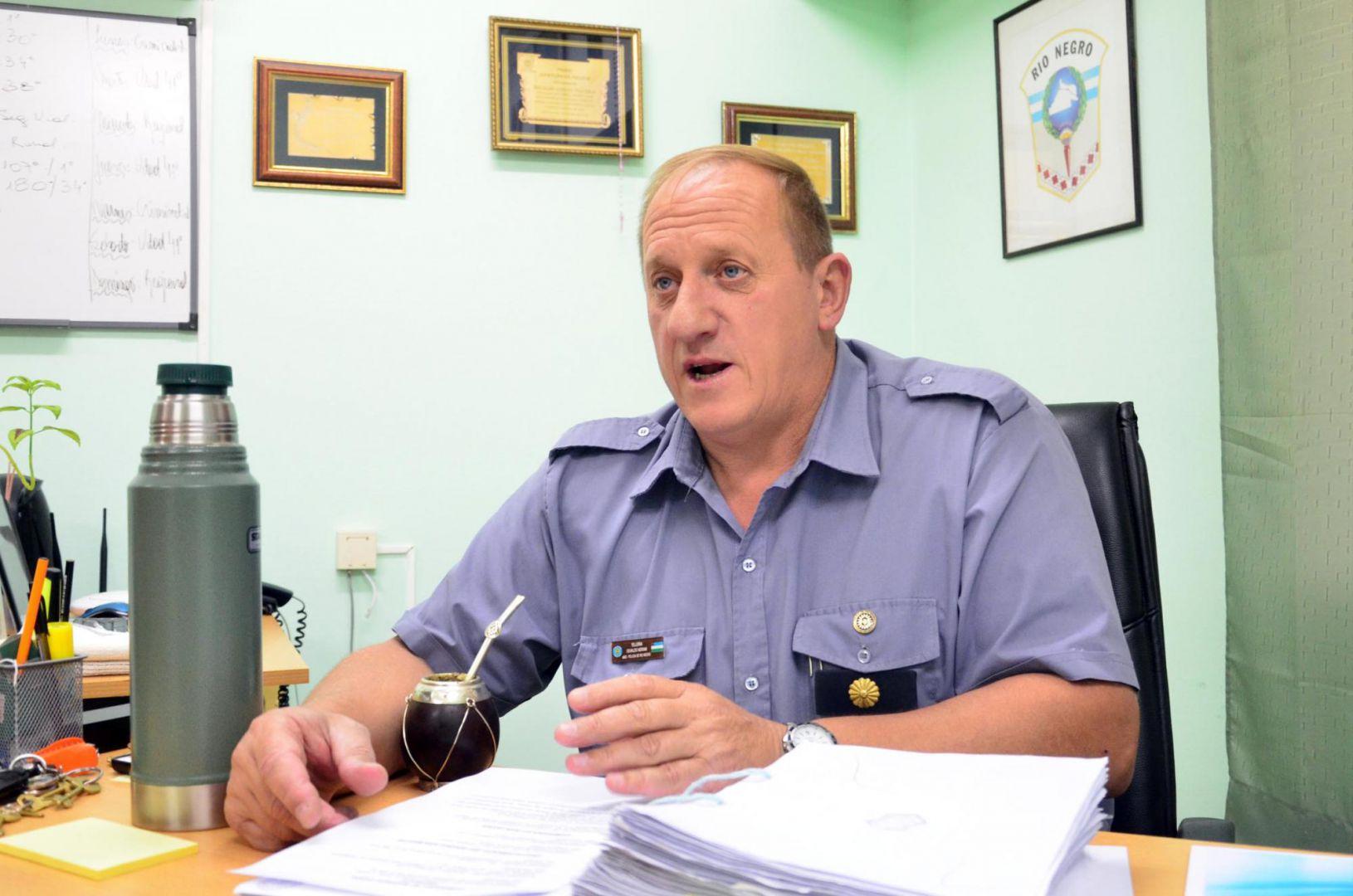 Cambios en la Policía: Fernando es el nuevo jefe de la Regional II de Roca