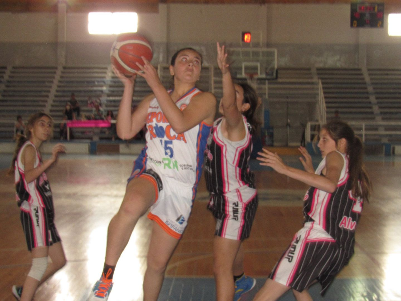 Nahiara, la joven roquense que forma parte del Programa Nacional Formativo de básquet