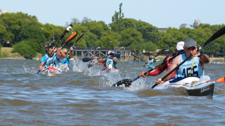 Regata del río Negro: 104 botes y 168 palistas formarán parte de la edición XLV