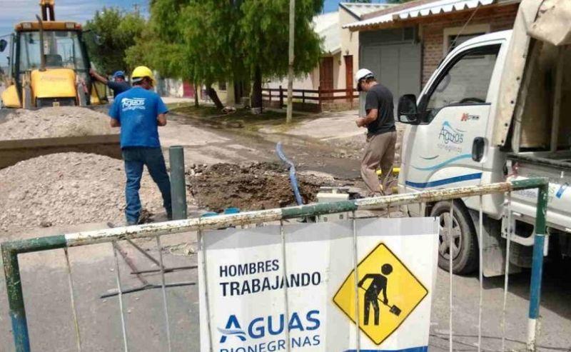 Aguas Rionegrinas aseguró haber arreglado las rupturas en el barrio Carlos Soria