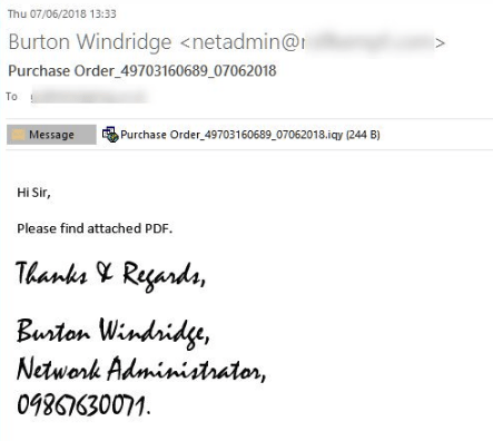 Flawed Ammyy RAT, Malspam Excel-based Internet Query (.iqy), RAT (Remote Access Trojan), estensione .iqy, Excel,