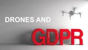 GDPR & Drone - Come rispettare la privacy se si usa un DRONE 3
