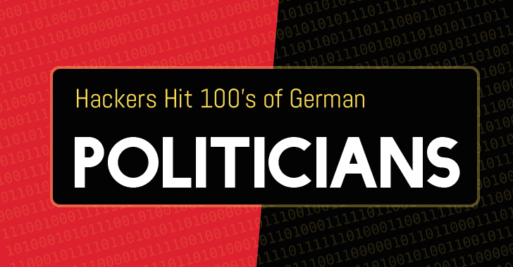 Hackers Leak Personal Data in Germania - Online i dati di politici e personaggi noti 48