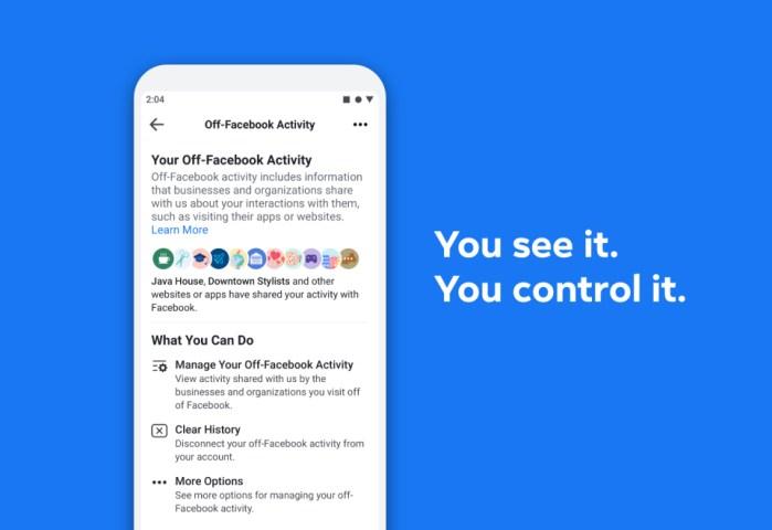 Off-Facebook Activity - Il nuovo strumento per la privacy di Facebook 2