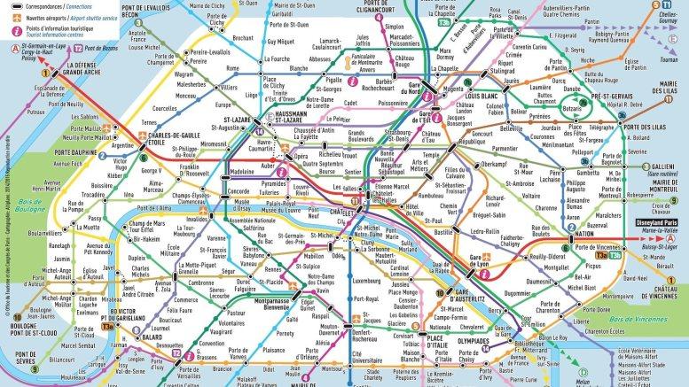 Paris metro mam mappa metr parigi idee in movimento - Ci mappa da colorare pagina di mappa ...
