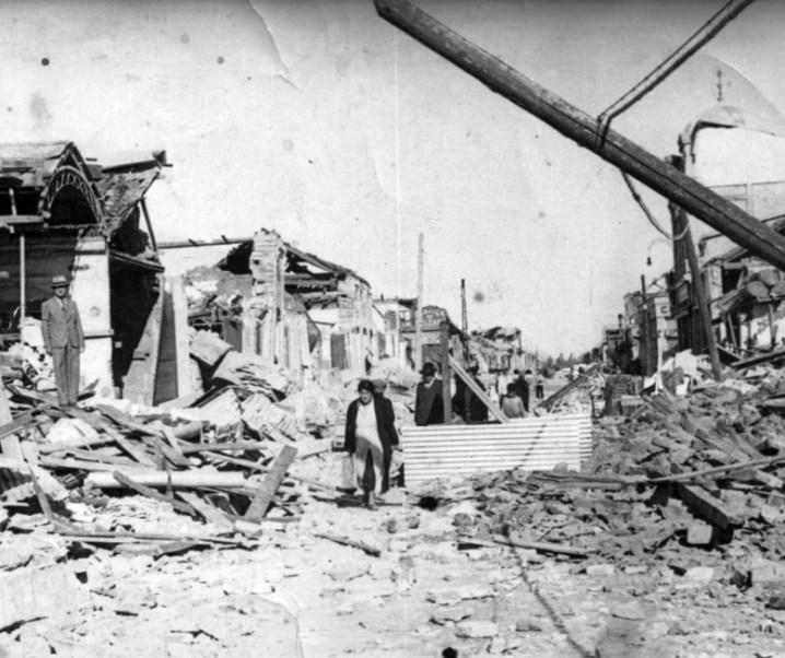 Interesante artículo preparado por el Ingeniero Civil Hugo Tejo sobre el terremoto de Chillán de enero de 1939