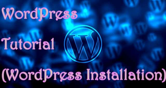how to create database in wordpress