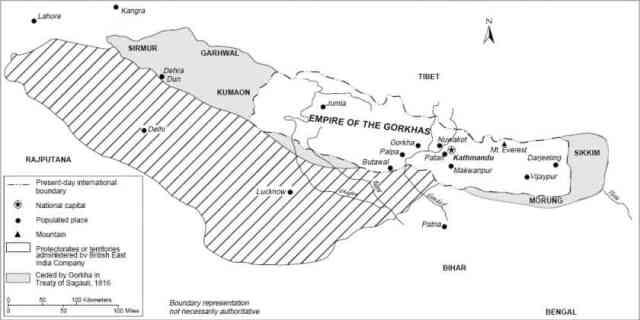 सुगौली संधि History of uttarakhand