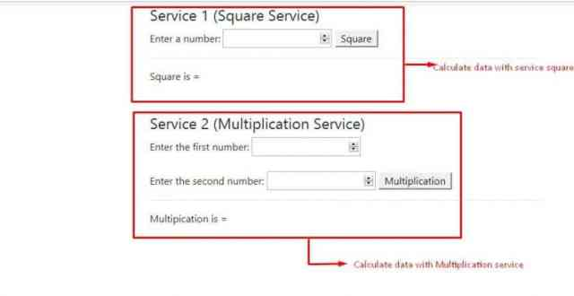 AngularJS Service Example