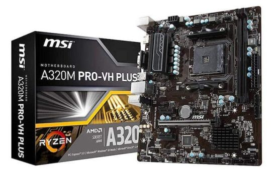 MSI 4 Budget motherboards