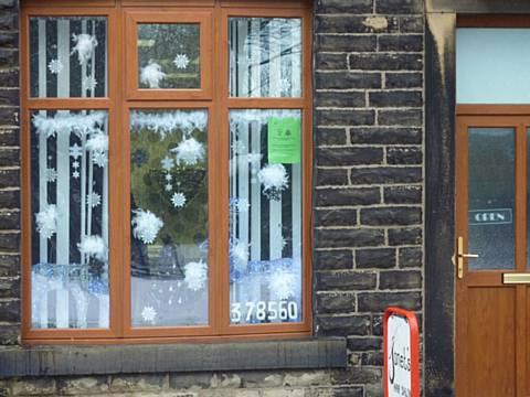 Littleborough Christmas Window Displays Nominee Janets