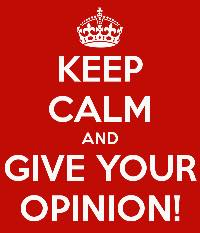 Risultati immagini per your opinion counts