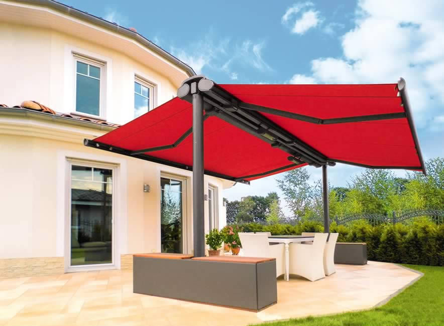 Freestanding Awnings  Awnings for Open Spaces  Roch Awnings