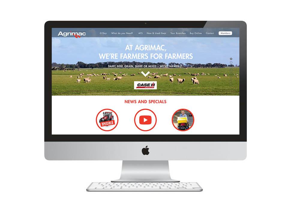 Agrimac Website