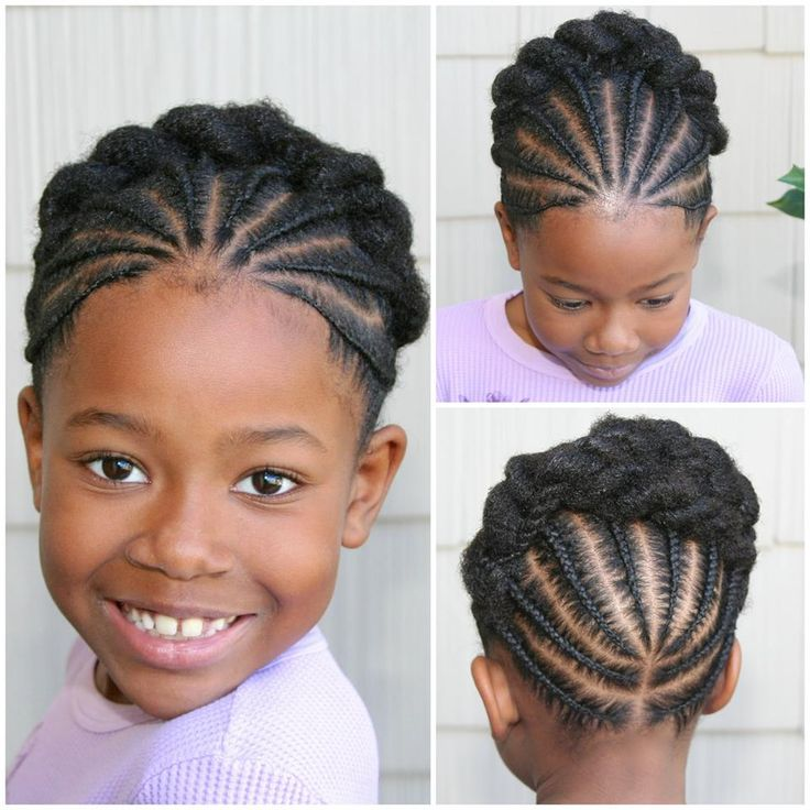 Pictures Of The Week Natural Hairstyles For Little Girls