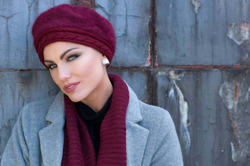 Florence chic winter hat front