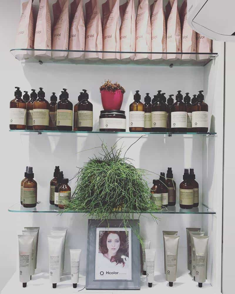 Away organic, chemical free hair treatments and colour at Roches