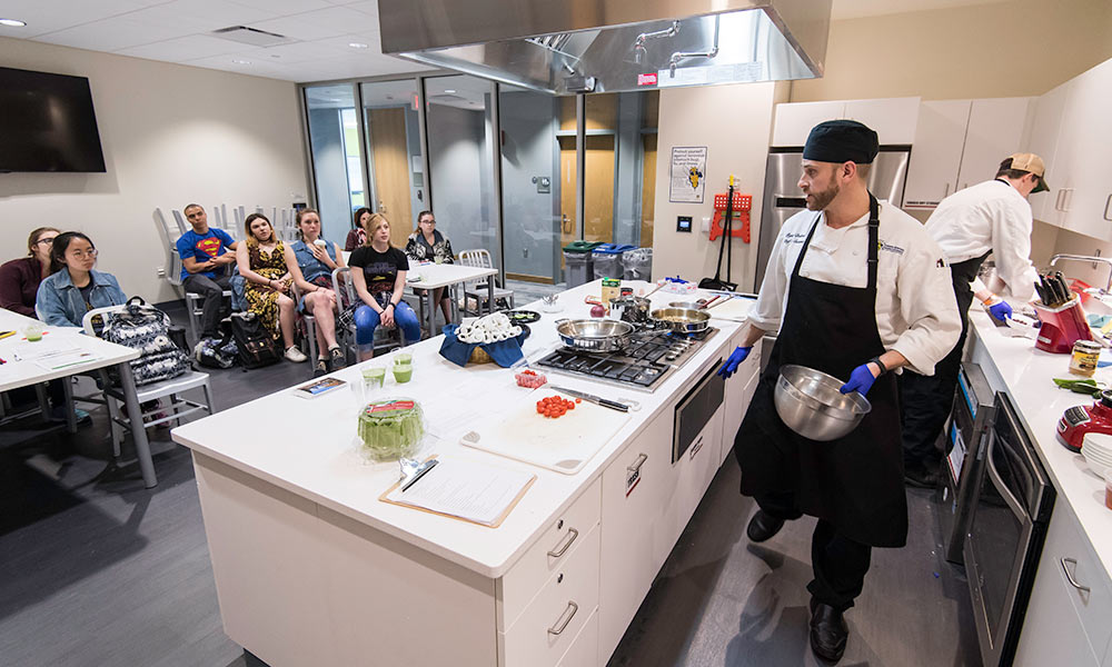 Douglass Community Kitchen heating up for clubs classes