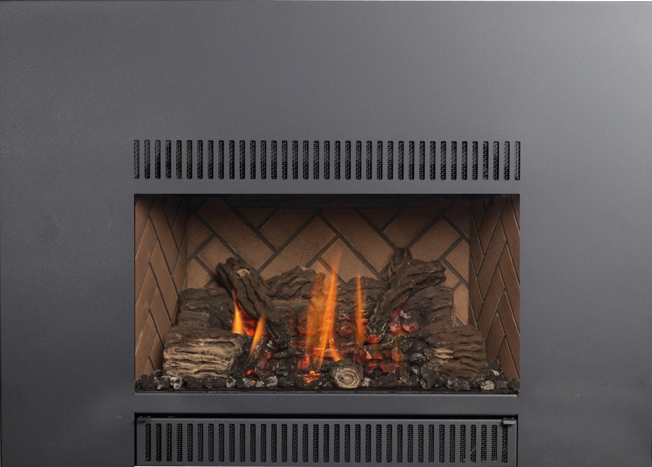 Fireplace Windows Exhaust