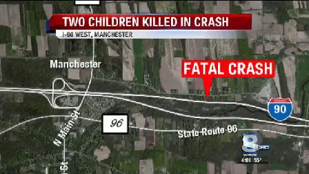 Two children killed in I-90 crash