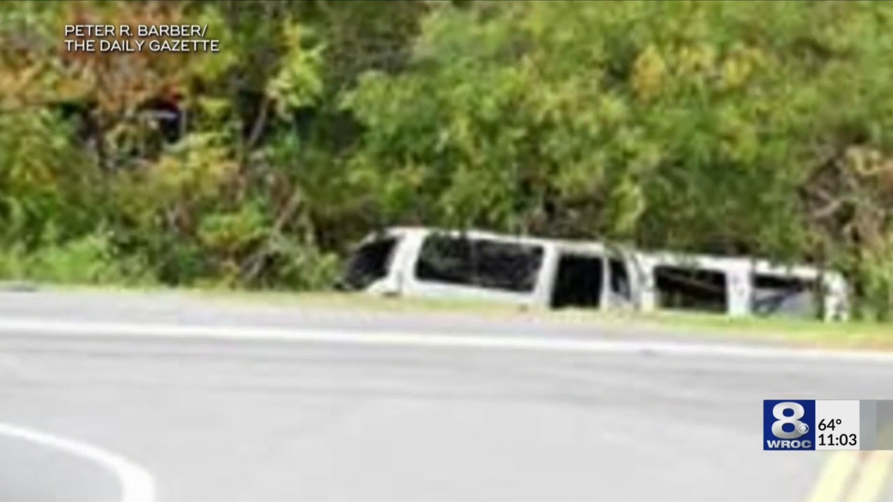 Investigators looking into limo crash
