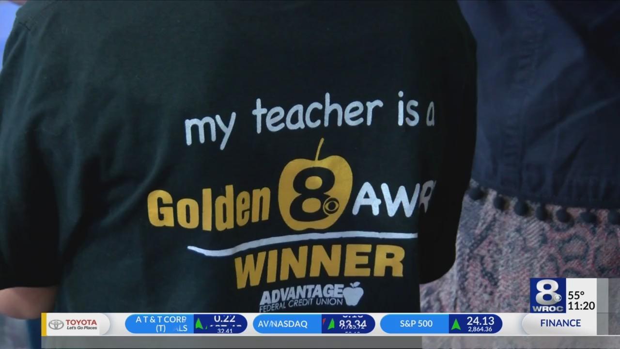 Golden Apple: Teachers get scholarships for grad school