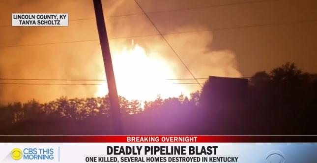 Kentucky gas pipeline explosion, fire felt 'like an atomic bomb went