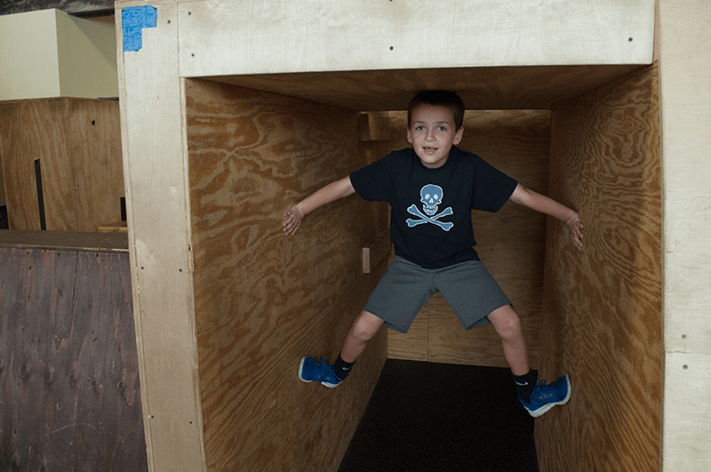 Tiny Movers Parkour Classes Ages 3-5