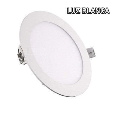Plafon 12W luz blanca