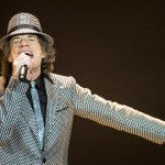 LONDON, ENGLAND - NOVEMBER 25: (STRICTLY EDITORIAL USE ONLY)Mick Jagger of The Rolling Stones perform live at 02 Arena on November 25, 2012 in London, England.  (Photo by Ian Gavan/Getty Images)