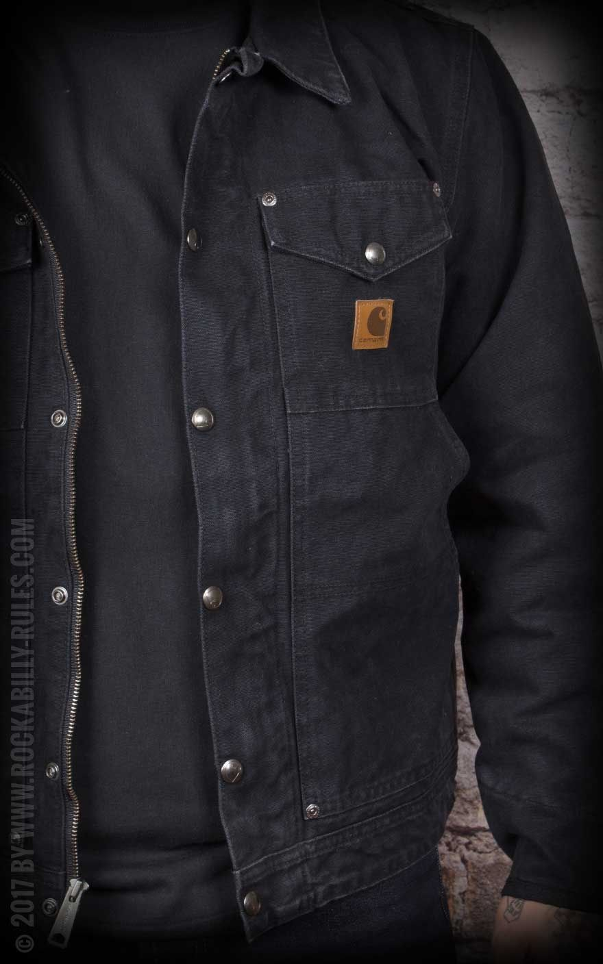 cart for kitchen st charles steel cabinets carhartt - berwick jacket | rockabilly rules