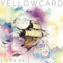 yellowcard lift a sail album