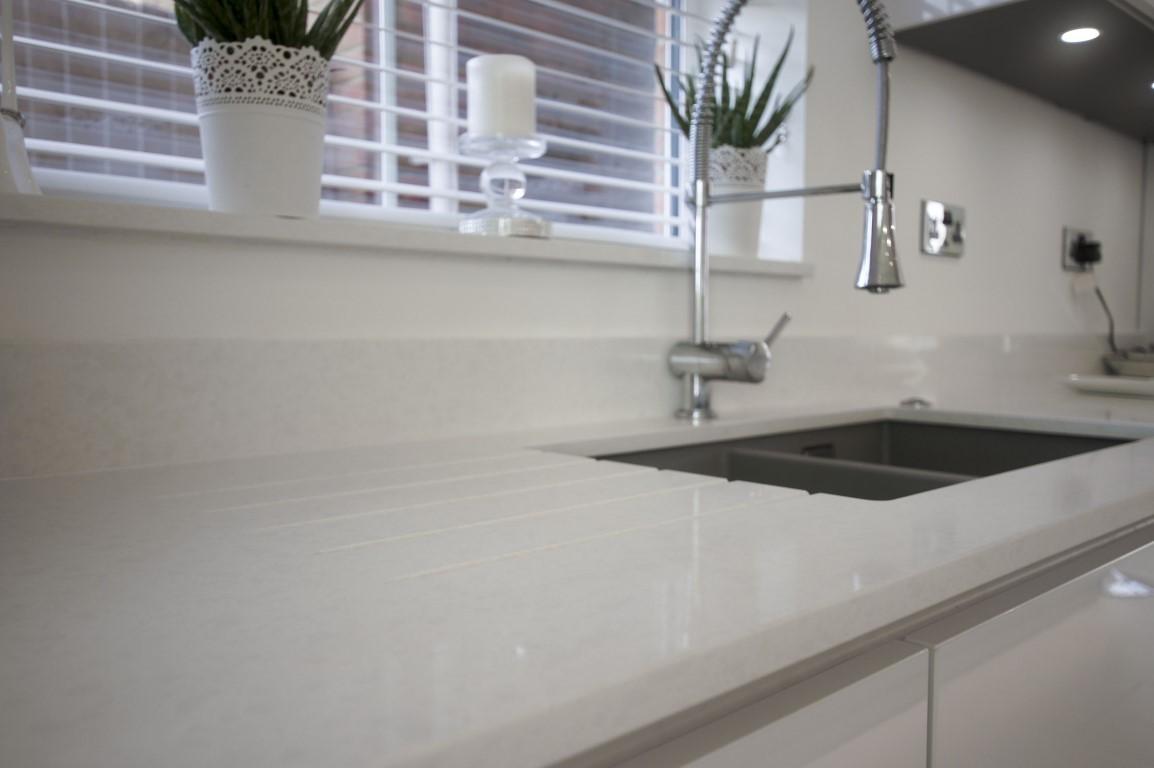 Bianco Marmo Suprema  Urban Quartz  Rock and Co Granite Ltd